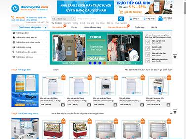 Thiết kế website điện máy VICO