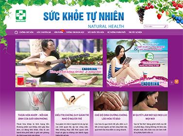 Thiết kế website dược phẩm: CÔNG TY TNHH TM DƯỢC PHẨM ÚC CHÂU