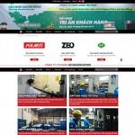 Thiết kế website dầu khí: AP SAIGON PETRO