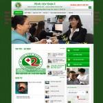 Thiết kế website : BỆNH VIỆN QUẬN 2