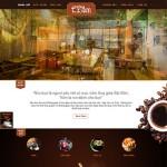 Thiết kế website quán cafe: Cafetram