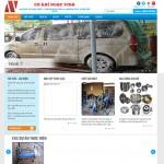 Thiết kế website cơ khí: NGỌC VINH