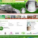 Thiết kế website hóa chất: Đại cát lợi