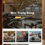 Thiết kế website nội thất: Mộc trung đông