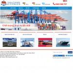 Thiết kế website vận chuyển : CÔNG TY CỔ PHẦN TÂN CẢNG CYPRESS