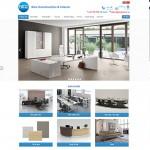Thiết kế website nội thất : Nice Construction & Interior