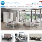 Thiết kế website nội thất : Công ty TNHH Xây dựng và Nội thất Nice