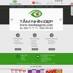 Thiết kế website : CTY CP QUẢNG CÁO TẦM NHÌN ĐẸP