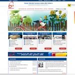 Thiết kế website giáo dục: TRUNG TÂM ĐÀO TẠO BƯU CHÍNH VIỄN THÔNG II